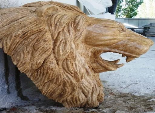 mermer aslan ağzı -208 lion