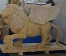 Mermer Kanatlı Aslan- lion-803